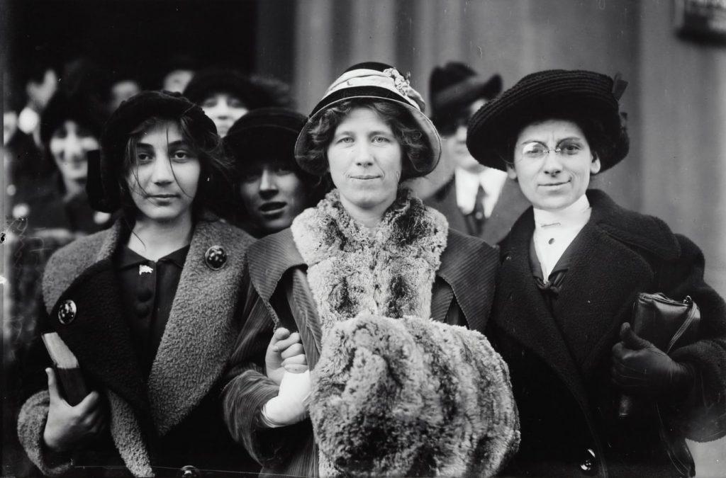 "Fola"" La Follette, Rose Livingston, a young striker in NYC 1913"
